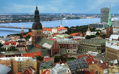 Riga wallpaper