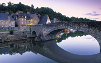 River Rance, Dinan wallpaper 1920x1200 jpg