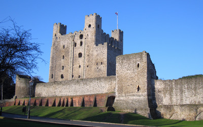 Rochester Castle wallpaper