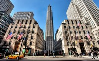 Rockefeller Center in New York City wallpaper 1920x1200 jpg
