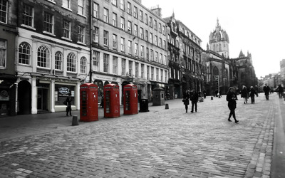 Royal Mile wallpaper