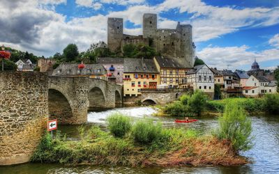 Runkel, Germany wallpaper
