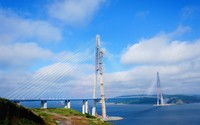 Russky Bridge, Russia wallpaper 1920x1200 jpg