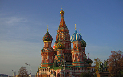 Saint Basil's Cathedral [3] wallpaper
