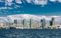 San Diego skyline wallpaper 1920x1200 jpg