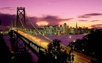 San Francisco Bay Bridge wallpaper 1920x1200 jpg