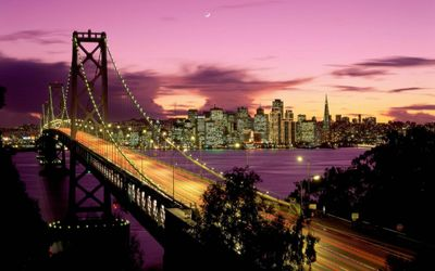 San Francisco Bay Bridge wallpaper