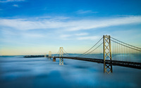 San Francisco – Oakland Bay Bridge wallpaper 1920x1200 jpg