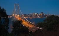 San Francisco – Oakland Bay Bridge [2] wallpaper 1920x1200 jpg