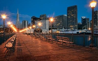 San Francisco pier wallpaper