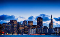 San Francisco skyline [2] wallpaper 1920x1200 jpg