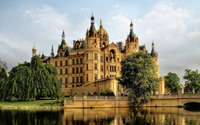 Schwerin Castle wallpaper 1920x1080 jpg