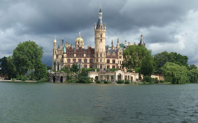 Schwerin castle [2] wallpaper