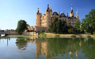 Schwerin Palace, Germany wallpaper