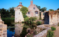 Scotney Castle wallpaper 1920x1200 jpg