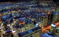 Seoul at night wallpaper 1920x1080 jpg