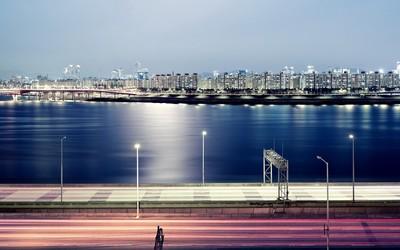 Seoul cityscape wallpaper