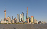Shanghai Tower wallpaper 2560x1600 jpg