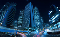 Shinjuku, Tokyo at night wallpaper 2560x1600 jpg