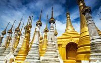 Shwedagon Pagoda wallpaper 1920x1200 jpg