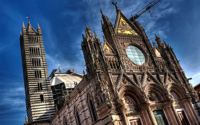 Siena Cathedral, Italy Wallpaper