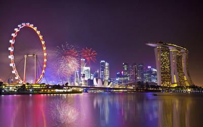 Singapore Flyer wallpaper