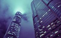 Skyscrapers in Hong Kong wallpaper 1920x1200 jpg