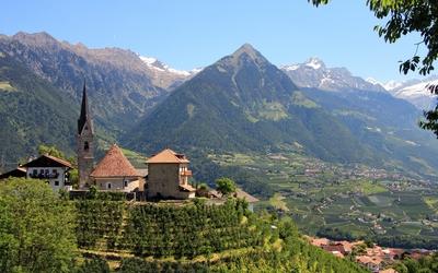 South Tyrol wallpaper