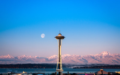 Space Needle wallpaper