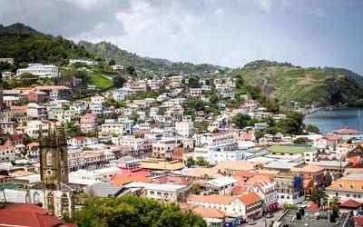 St George's capital of Grenada wallpaper