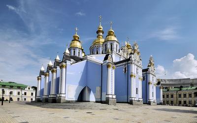 St. Michael's Golden-Domed Monastery wallpaper