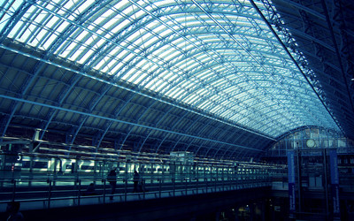 St Pancras railway station Wallpaper