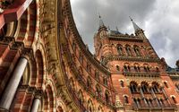 St Pancras railway station [2] wallpaper 1920x1200 jpg