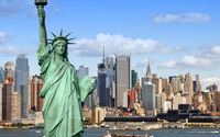 Statue of Liberty wallpaper 3840x2160 jpg