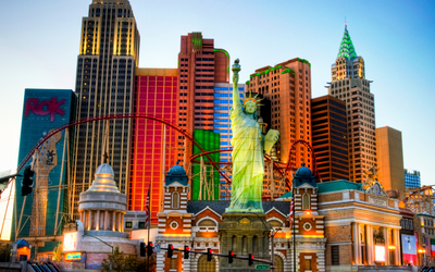 Statue of Liberty replica in Las Vegas wallpaper