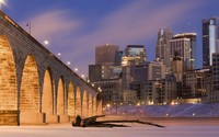 Stone Arch Bridge, Minneapolis wallpaper 1920x1200 jpg