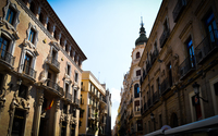 Street in Murcia wallpaper 3840x2160 jpg