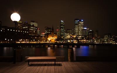 Sydney at night wallpaper