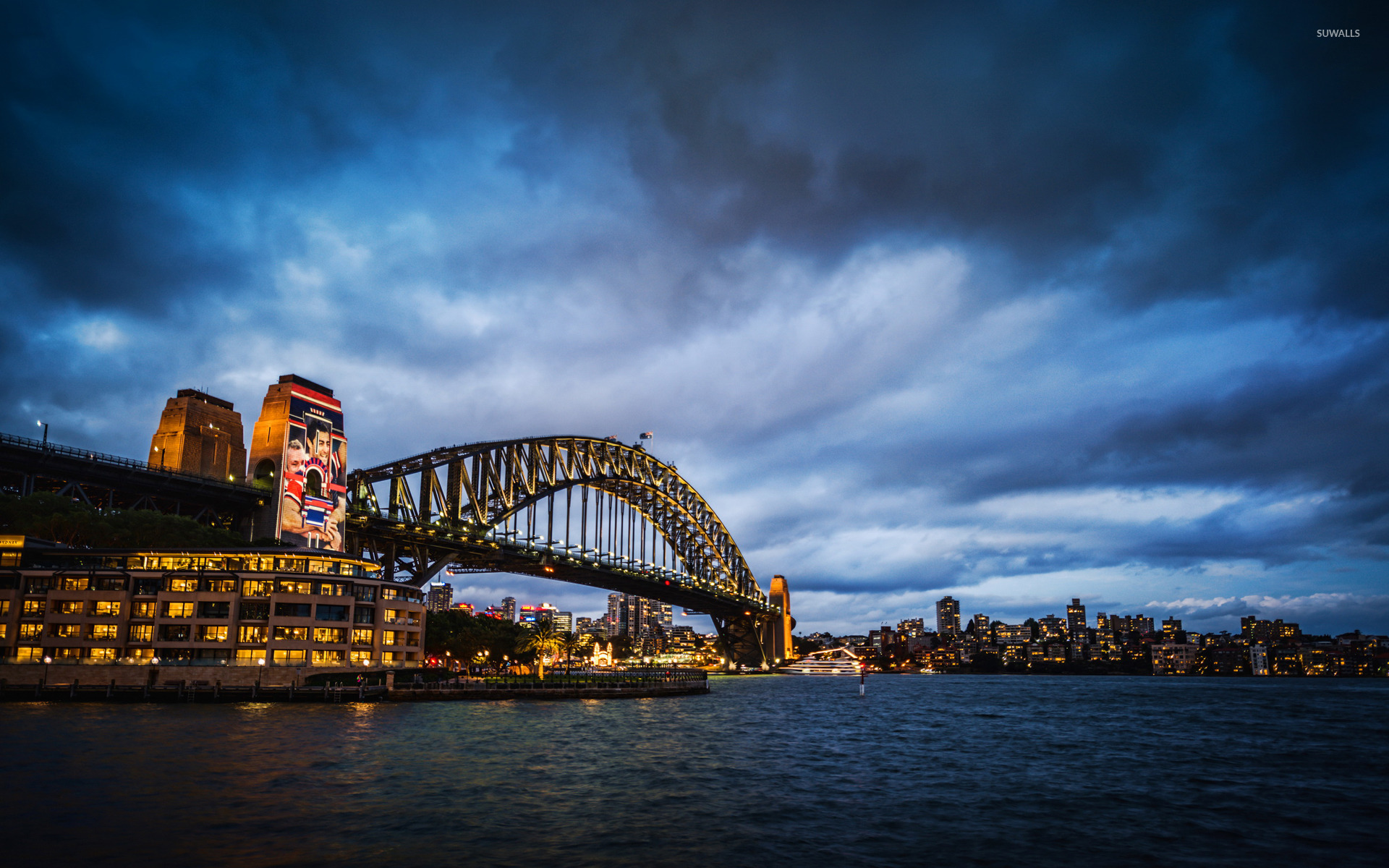 Sydney harbour bridge 3 wallpaper world wallpapers 26420 sydney harbour bridge 3 wallpaper altavistaventures Images