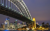 Sydney Harbour Bridge [5] wallpaper 1920x1080 jpg