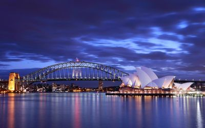 Sydney Harbour Bridge [4] wallpaper