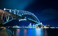 Sydney Harbour Bridge wallpaper 1920x1200 jpg