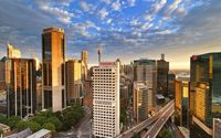 Sydney skyscrapers wallpaper 1920x1200 jpg