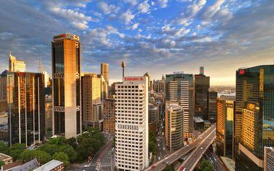 Sydney skyscrapers wallpaper