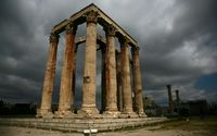 Temple of Olympian Zeus, Athens wallpaper 2560x1600 jpg