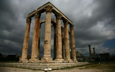 Temple of Olympian Zeus, Athens wallpaper