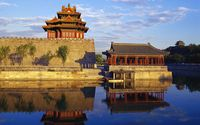 Temples in Beijing wallpaper 1920x1200 jpg