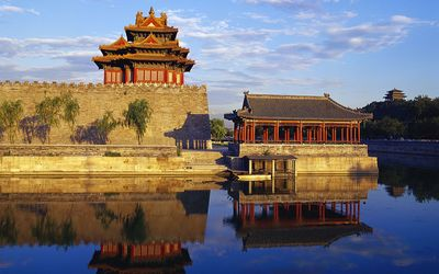 Temples in Beijing wallpaper
