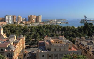 The coast of Malaga wallpaper