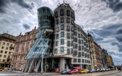 The Dancing House, Prague wallpaper